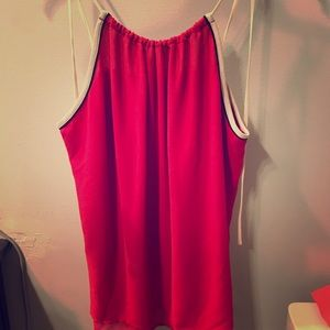 Tops - noroh fuscia tank top